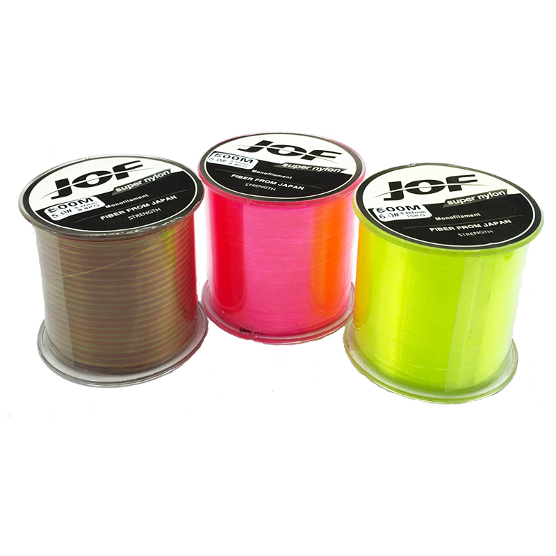 super strong japan monofilament main fishing line 500m durable transparent fly nylon line fishing tackle pasca thread bulk spool-in Fishing Lines from Sports & Entertainment