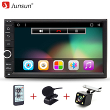 "Junsun 2 Din 7 ""auto DVD-Radio-Player 1024*600 Android 6.0 Universal Auto Tap PC Tablet 2 din Für Nissan GPS Stereo Audio Player"
