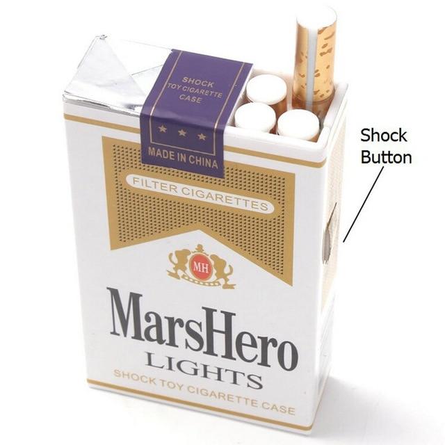 2 قطعة / الوحدة السجائر الكهربائية - لعب مضحك