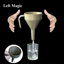 Comedy Funnel (Plastic) Magic Tricks Professional Stage Illusion Accessories Props Comedy Funny Mentalism Magic Toy G8279 jumping stool magic tricks magician stage illusion accessories props gimmick funny comedy magie