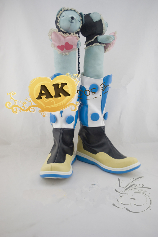 Anime DMMD Dramatical murder seragaki aoba shoes  costum made boots