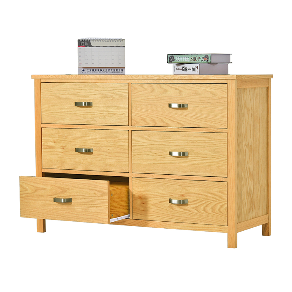 Living Room Furniture Cabinets: 2018 New Product Wood Solid Oak Living Room Cabinet With 6