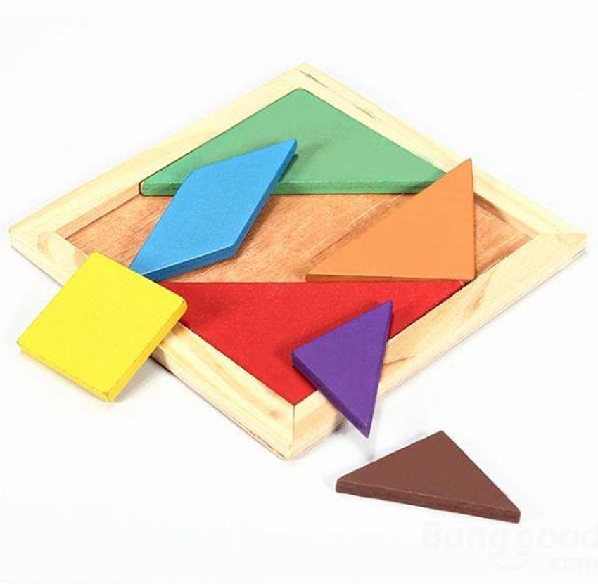 5 шт./компл. развития детей деревянные головоломки Развивающие Игрушечные лошадки для детей