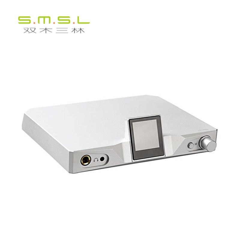 SMSL M9 Amplifier 32bit/768kHz DSD512 XMOS HiFi DAC Decoder USB/Optical/Coaxial Headphone AK4490 x 2 DAC Chip TPA6120A2 x 2 HPA