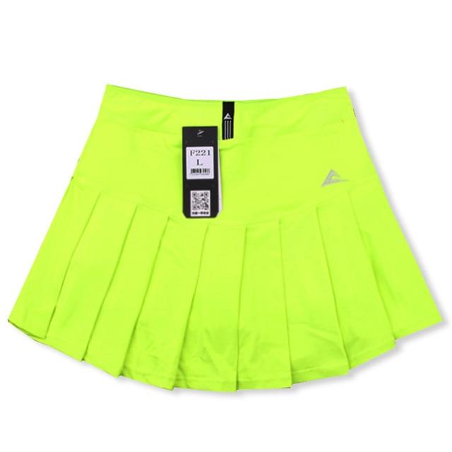 b30434d95c Quick Dry Sport Badminton Pant-skirt, Pleated Pants Pocket Tennis ...