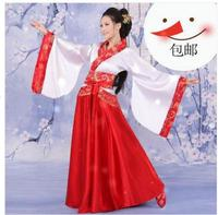 New Women's Ancient Tang Dynasty Empress Dress Traditional Hanfu Cosplay Clothing 6 Colors Women Chinese Ancient Costume