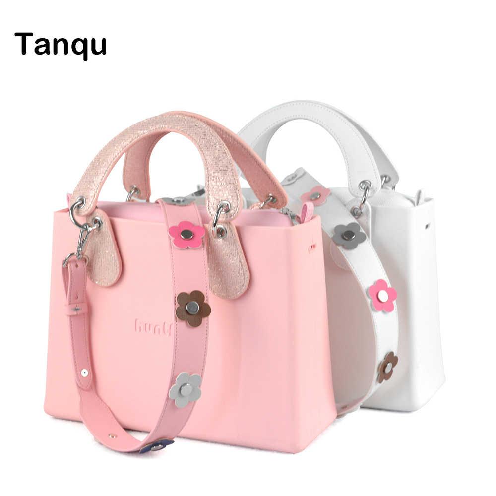 28b98bddfa14 Tanqu O стиль сумок женские сумки сумка huntfun EVA квадратный мешок с  лаконичным изогнутой ручкой заклепки