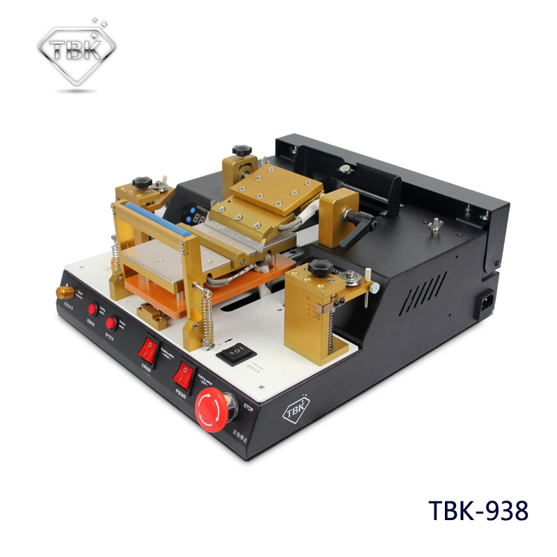 LCD Touch Screen Split Machine Automatic Lcd Separator With Glue Polarizer Remove TBK-938 Mobile Phone Repair Equipment uyue new glue remover machine for various models mobile phone lcd touch screen glue remove machine gl368