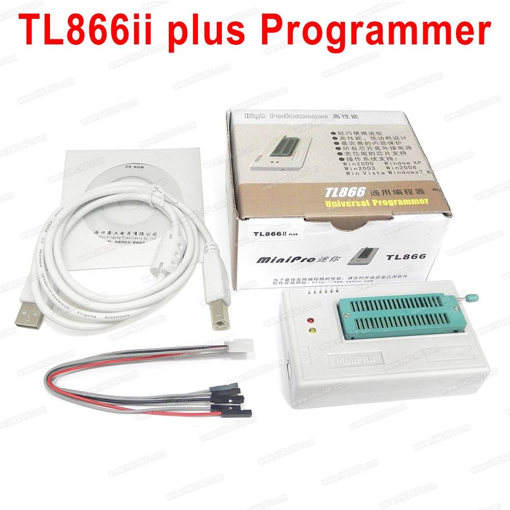 XGECU Original New TL866II PLUS TL866 Updated MiniPro Universal High Speed USB Programmer High Performance 100