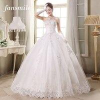 2015 Fashionable Romantic Sexy Lace Flower Wedding Dress With Train Princess Vestidos Women Plus Size Vintage