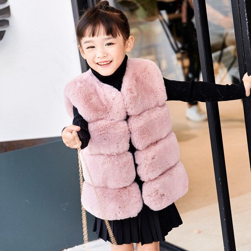 4d6d0b665 Detail Feedback Questions about Kids Girls Boys Faux Fur Vest Coats ...