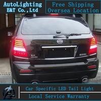 Car Styling For Kia Sorento Tail Lights 2010 2013 Sorento Led Tail Light Drl Kia LED