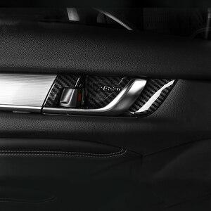 Image 3 - ABS Tampa Alça Tigela Porta Interior Guarnição Adesivos de Carro Styling Moldagem Interior Para Honda Accord X 10th 2018 2019 2020 Acessórios