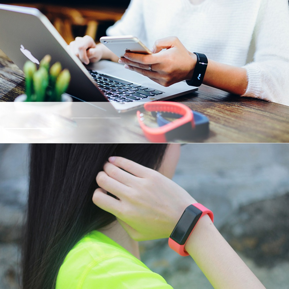 Ultrathin Benice Smart Wristbands YDSH-500 Multi-color For Running