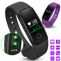 Original ID107 Heart Rate Smart Bracelet Watch Heart Rate Monitor Smart Band Wireless Fitness Tracker Wristband for Android iOS