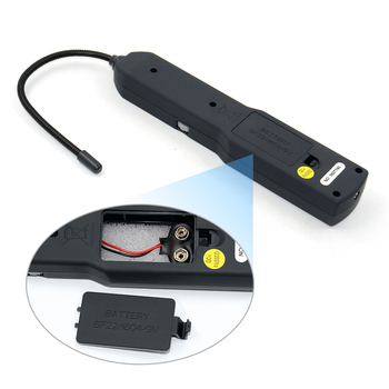 Non-Contact Automotive Short and Open Circuit Tester Kit with Transmitter and Receiver LEDs and Flexible Probe