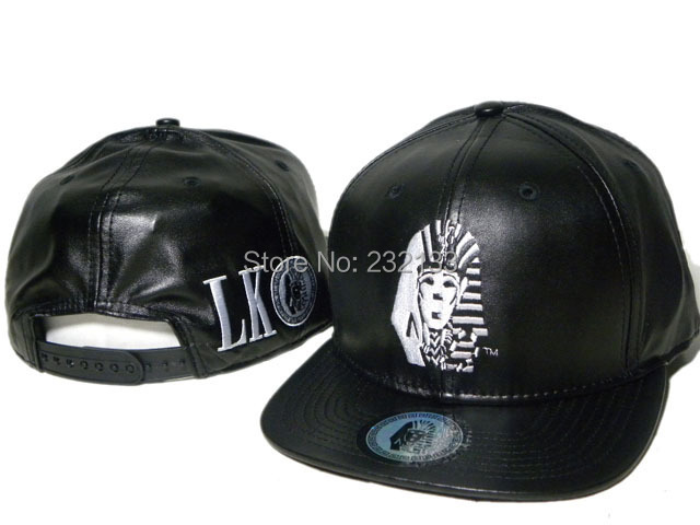 Hot Sale Last kings Snapback hats black red leather men   women classic  bone last kings strapback LK baseball caps 435aa01212e