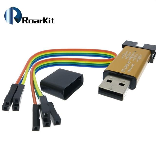 ST-Link V2 stlink mini STM8STM32 STLINK simulator online-download-programmierung Mit Abdeckung