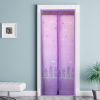 New In Stock Summer Anti Mosquito Curtain Magic Hands Free Screen Door Mesh Mosquito Net Curtain
