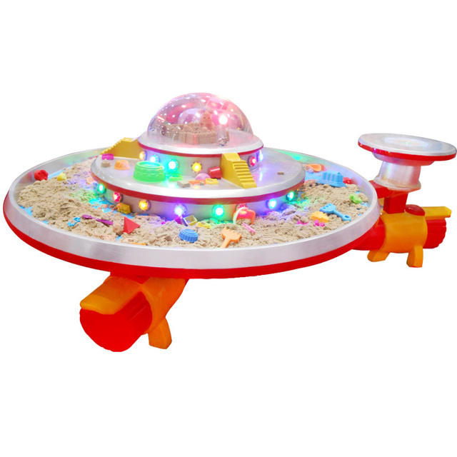 Popular UFO Kids Play Space Sand Table For Children Amusement Park