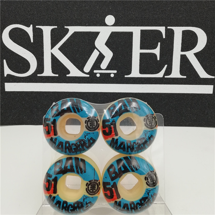 Image 4 - Graphics Skateboard Wheels 52/53/55mm Wheels Skate Board PU Wheels Skates-in Skate Board from Sports & Entertainment