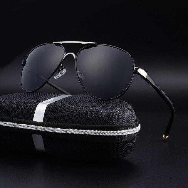 b30e7ac9f A nova venda direta da fábrica homem polarizada óculos de sol Clássicos  óculos grandes óculos de