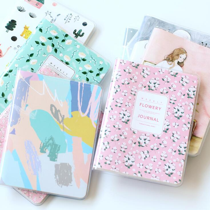 Fresh A6 Lovely PVC Cover Notebook Diary Pocket Notepad Promotional Gift Stationery