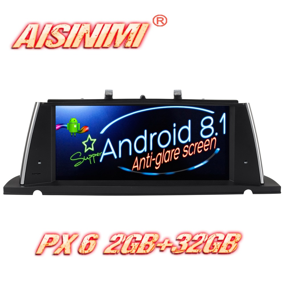 Android 8.1 For BMW 5 Series F07 GT Original CIC System/Original NBT System Car audio gps stereo car monitor screen all in one