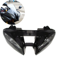 Motorcycle Front Headlight Head Light Headlamp Assembly Housing Kit For Yamaha YZFR6 YZF R6 YZF R6 2008 2009 2010 08 09 10