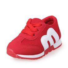 Enfants Chaussures Filles Garçons Sport Chaussures Antidérapant Fond Mou Enfants De Mode Baskets Confortables Respirant Maille (Bébé/Peu Kid)
