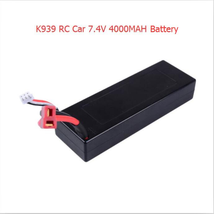 Hot sell K939 RC font b car b font 1PCS or 2PCS 7 4V 4000mAh font