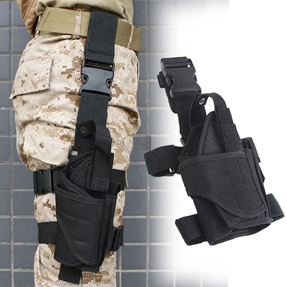 2020 New Arrival Adjustable Army Drop Right Leg Thigh Holster Pouch Holder For Pistol Gun  Quick Release Buckle Free Shipping