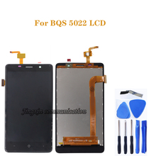 for BQ BQS 5022 LCD DISPLAY touch screen digitizer component replacement for BQ S 5022 screen LCD monitor free tool