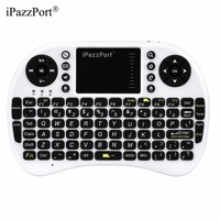 IPazzPort KP21 High Quality Wireless Keyboard Touchpad Handhold Full Size For Desktop Laptop With Receiver Hot