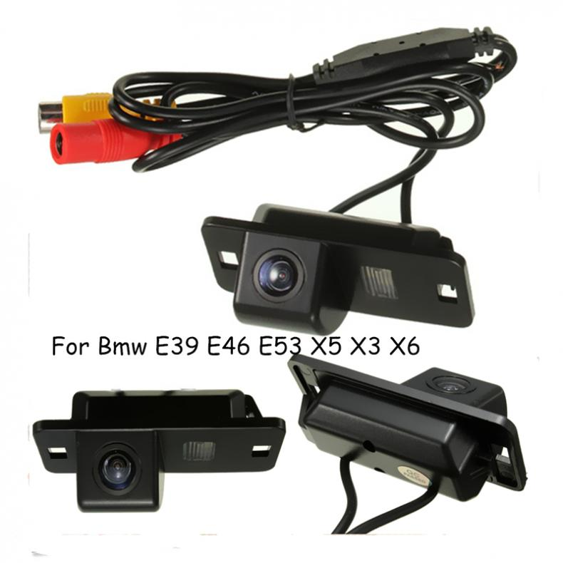 2017 Brand New Car Reversing Camera Rear View Reverse Cam CCD For BMW 3/7/5 Series E39 E46 E53 X5 X3 X6 цена