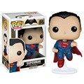 Супермен Funko POP 85 # Бэтмен ПРОТИВ Супермена эра Правосудия супер Герой 10 см ПВХ Модель Игрушки Коллекция Кукла Украшения Горячий продать