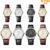 Eyki relógios dos homens marca de topo de negócios couro do couro ponteiro luminoso relógio de pulso à prova d' água amantes de relógios de quartzo reloj hombre