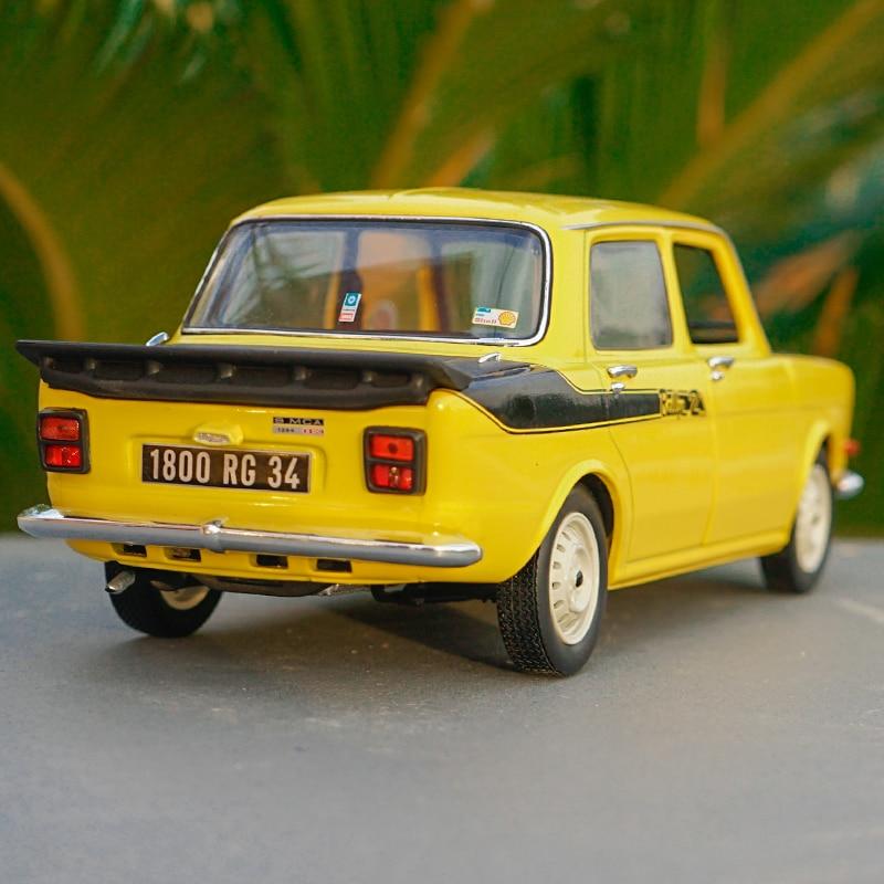 """AUTO VINTAGE/""""simca 1000 RALLYE N° 18"""