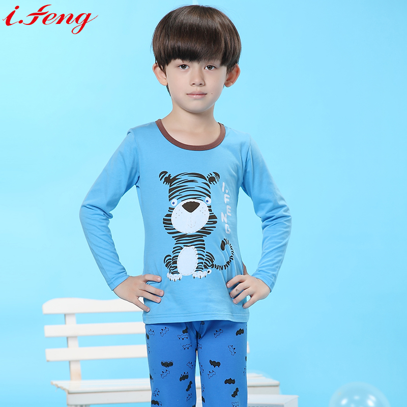 Aliexpress.com : Buy i.feng Cute Kids Pajamas Boys Sleepwear ...