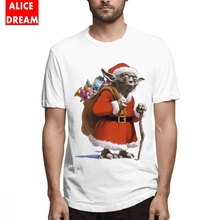 Star wars t shirt New Arrival Santa Yoda T Shirt 2018 Camiseta Round Neck S-6XL Plus Size Homme Popular