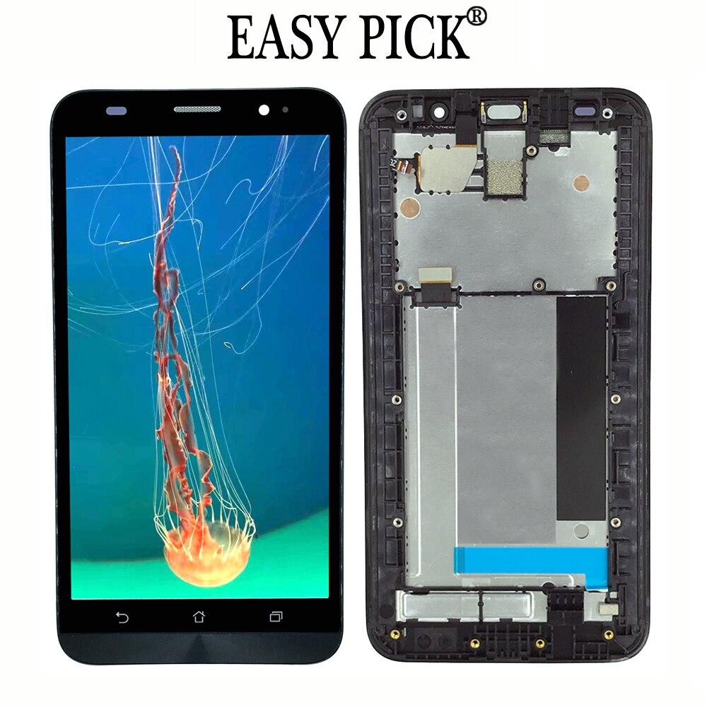 Para asus zenfone 2 ze551ml z3560 z3580 ZE551ML-6J329WW 6j226ww display lcd de toque digitador da tela