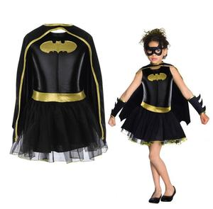 Image 1 - ילד בנות באטמן Batgirl תחפושת טוטו Superhero תלבושות תלבושות קומיקס 4PCS
