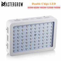 300W/600W/800W/900W/1000W/1200W/1500W/1600W/1800W/2000W Double Chips LED Grow Light Full Spectrum 410-730nm For Indoor Plant