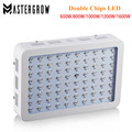 MasterGrow II 600W/800W/1000W/1200W/1600W Double Chips LED Grow Light Lamp Full Spectrum 410-730nm For Indoor Plants and Flower