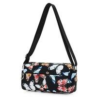Women Messenger Bags Print Floral Cross Body Shoulder Canvas Hobo Bag Nylon Oxford Fabric Women S