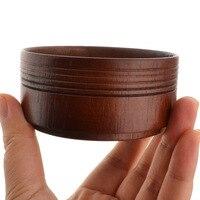 Деревянная чаша для бритья большой Ёмкость Парикмахерская мужское лицо бороды очистки Мыло чаша для Для мужчин; помазок для бритья чашку ин...