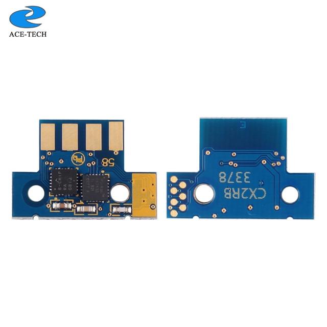1 set 8K NA version 70C1XK0 70C1XC0 70C1XM0 70C1XY0 toner chip for Lexmark CS510 CS510de CS510dte laser printer cartridge