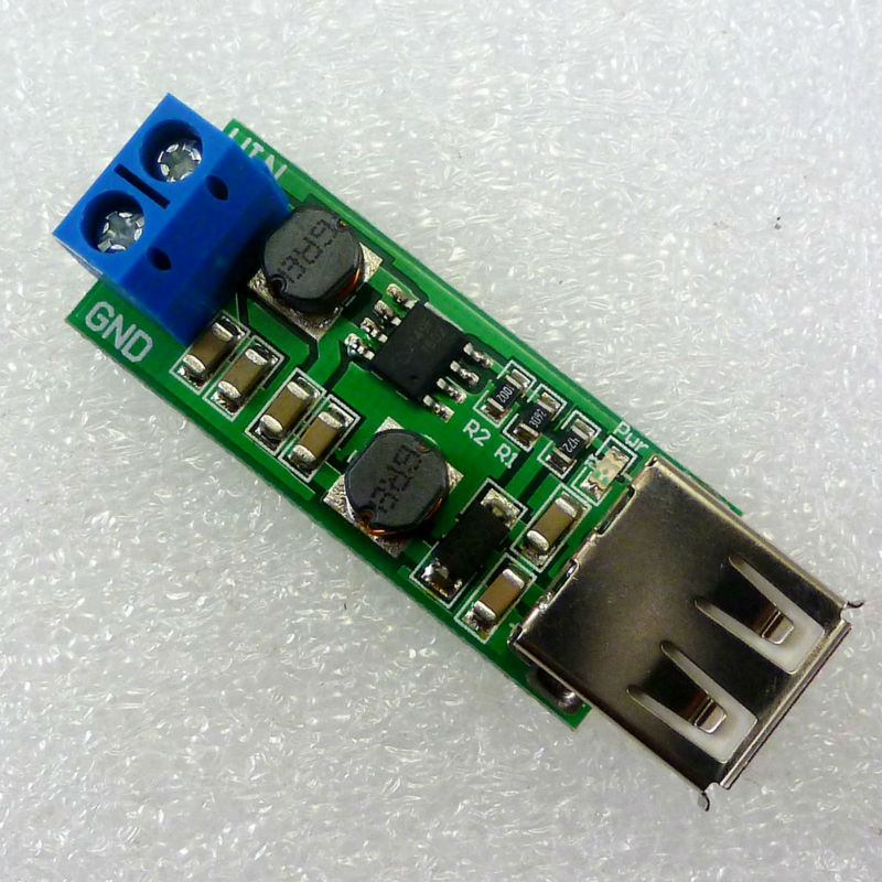 Shop For Cheap Dd1205ua Usb Dc-dc Auto Boost Buck Step Up Step Down Converter Input 1-6.5v Output 5v Power Supply Module And Digestion Helping Integrated Circuits