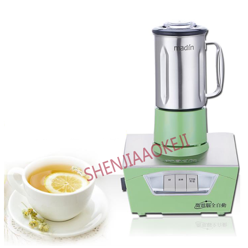 Tea Extractor 800ml Microcomputer Stainless steel fully automatic professional tea shop extraction tea machine 600W 1PC - 3