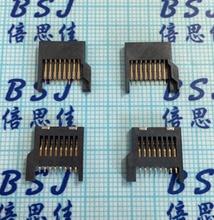 20pcs TF Easy Type 8P 8Pins Micro SD Memory Card Slot Socket all Plastic ac110v 8pins
